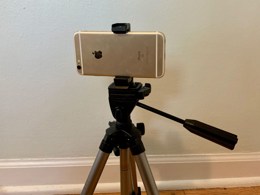 Tripod with Woohoto Mount